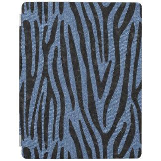 SKIN4 BLACK MARBLE & BLUE DENIM iPad COVER