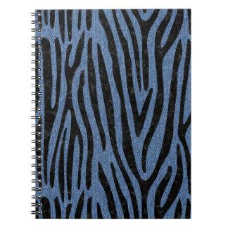 SKIN4 BLACK MARBLE & BLUE DENIM NOTEBOOK