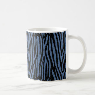 SKIN4 BLACK MARBLE & BLUE DENIM (R) COFFEE MUG