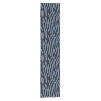 SKIN4 BLACK MARBLE & BLUE DENIM (R) SHORT TABLE RUNNER