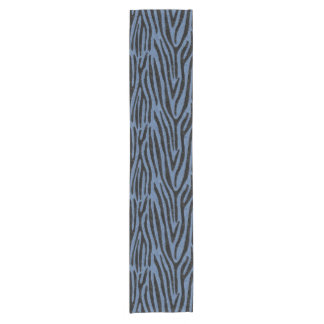 SKIN4 BLACK MARBLE & BLUE DENIM SHORT TABLE RUNNER