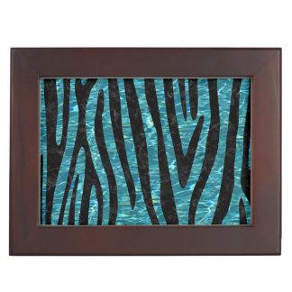 SKIN4 BLACK MARBLE & BLUE-GREEN WATER KEEPSAKE BOX