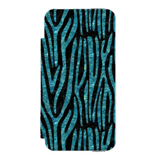 SKIN4 BLACK MARBLE & BLUE-GREEN WATER (R) INCIPIO WATSON™ iPhone 5 WALLET CASE