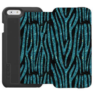 SKIN4 BLACK MARBLE & BLUE-GREEN WATER (R) INCIPIO WATSON™ iPhone 6 WALLET CASE
