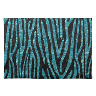 SKIN4 BLACK MARBLE & BLUE-GREEN WATER (R) PLACEMAT