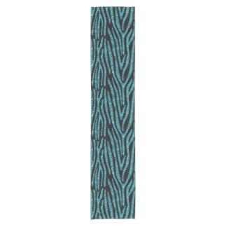 SKIN4 BLACK MARBLE & BLUE-GREEN WATER (R) SHORT TABLE RUNNER
