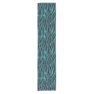 SKIN4 BLACK MARBLE & BLUE-GREEN WATER SHORT TABLE RUNNER