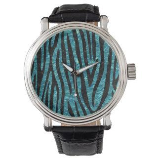 SKIN4 BLACK MARBLE & BLUE-GREEN WATER WATCH