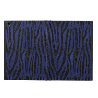 SKIN4 BLACK MARBLE & BLUE LEATHER CASE FOR iPad AIR