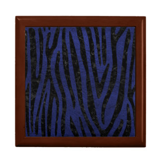 SKIN4 BLACK MARBLE & BLUE LEATHER GIFT BOX