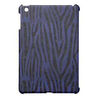 SKIN4 BLACK MARBLE & BLUE LEATHER iPad MINI CASE