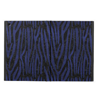 SKIN4 BLACK MARBLE & BLUE LEATHER (R) COVER FOR iPad AIR