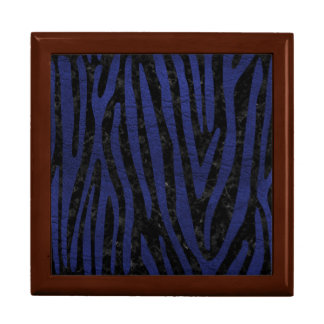SKIN4 BLACK MARBLE & BLUE LEATHER (R) GIFT BOX