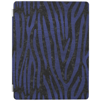 SKIN4 BLACK MARBLE & BLUE LEATHER (R) iPad COVER