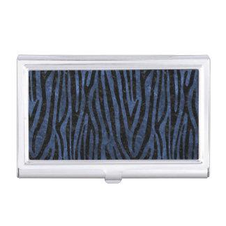 SKIN4 BLACK MARBLE & BLUE STONE BUSINESS CARD HOLDER