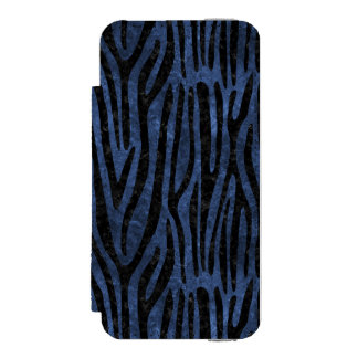 SKIN4 BLACK MARBLE & BLUE STONE INCIPIO WATSON™ iPhone 5 WALLET CASE