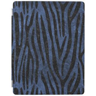 SKIN4 BLACK MARBLE & BLUE STONE iPad COVER