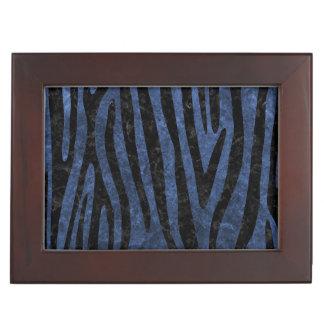 SKIN4 BLACK MARBLE & BLUE STONE KEEPSAKE BOX