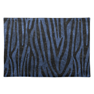 SKIN4 BLACK MARBLE & BLUE STONE PLACEMAT