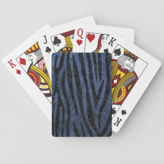 SKIN4 BLACK MARBLE & BLUE STONE PLAYING CARDS