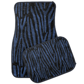 SKIN4 BLACK MARBLE & BLUE STONE (R) CAR MAT