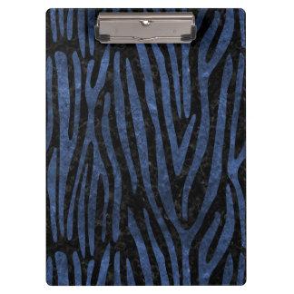 SKIN4 BLACK MARBLE & BLUE STONE (R) CLIPBOARD