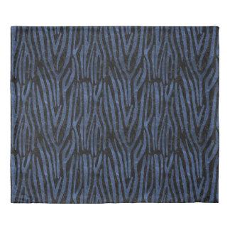 SKIN4 BLACK MARBLE & BLUE STONE (R) DUVET COVER