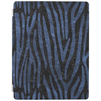 SKIN4 BLACK MARBLE & BLUE STONE (R) iPad COVER