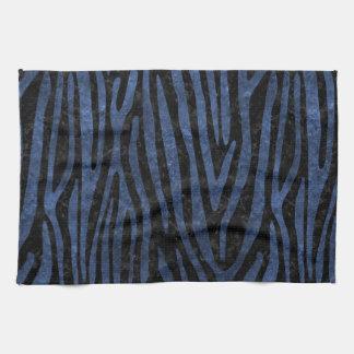 SKIN4 BLACK MARBLE & BLUE STONE (R) KITCHEN TOWEL