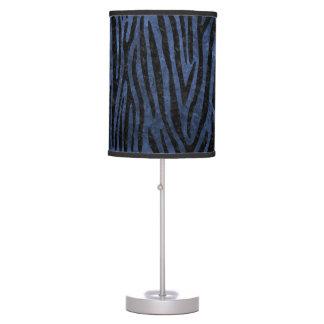 SKIN4 BLACK MARBLE & BLUE STONE TABLE LAMP
