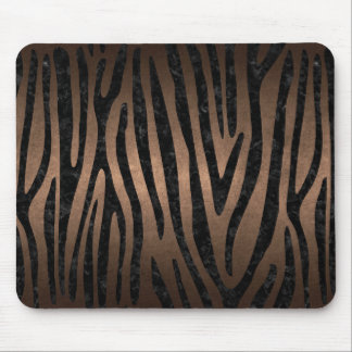 SKIN4 BLACK MARBLE & BRONZE METAL MOUSE PAD
