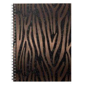 SKIN4 BLACK MARBLE & BRONZE METAL (R) NOTEBOOKS
