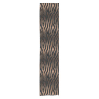 SKIN4 BLACK MARBLE & BRONZE METAL (R) SHORT TABLE RUNNER