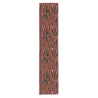 SKIN4 BLACK MARBLE & RED MARBLE (R) SHORT TABLE RUNNER
