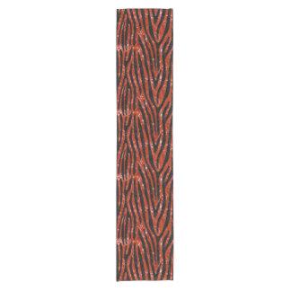 SKIN4 BLACK MARBLE & RED MARBLE SHORT TABLE RUNNER