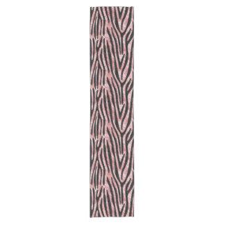 SKIN4 BLACK MARBLE & RED & WHITE MARBLE SHORT TABLE RUNNER