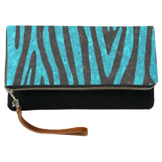 SKIN4 BLACK MARBLE & TURQUOISE MARBLE (R) CLUTCH