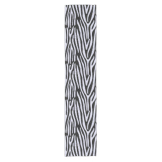 SKIN4 BLACK MARBLE & WHITE MARBLE (R) SHORT TABLE RUNNER