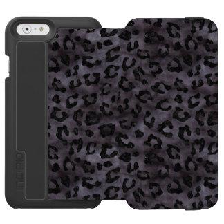 SKIN5 BLACK MARBLE & BLACK WATERCOLOR INCIPIO WATSON™ iPhone 6 WALLET CASE