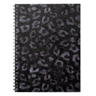SKIN5 BLACK MARBLE & BLACK WATERCOLOR (R) NOTEBOOK