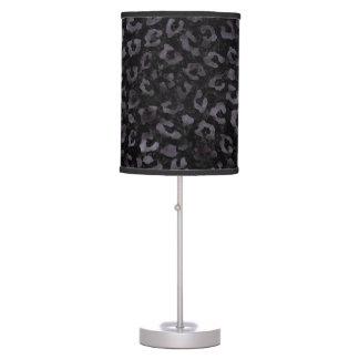 SKIN5 BLACK MARBLE & BLACK WATERCOLOR (R) TABLE LAMP