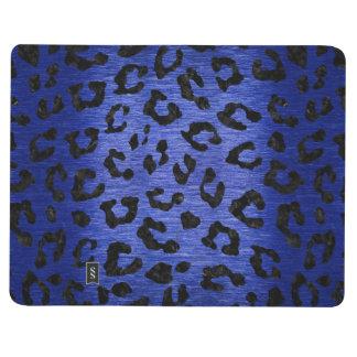 SKIN5 BLACK MARBLE & BLUE BRUSHED METAL JOURNALS