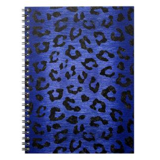 SKIN5 BLACK MARBLE & BLUE BRUSHED METAL NOTEBOOK