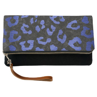 SKIN5 BLACK MARBLE & BLUE BRUSHED METAL (R) CLUTCH