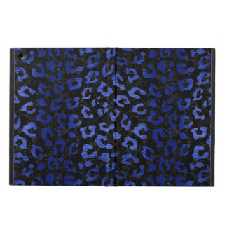 SKIN5 BLACK MARBLE & BLUE BRUSHED METAL (R) COVER FOR iPad AIR
