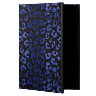 SKIN5 BLACK MARBLE & BLUE BRUSHED METAL (R) POWIS iPad AIR 2 CASE