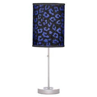 SKIN5 BLACK MARBLE & BLUE BRUSHED METAL (R) TABLE LAMP