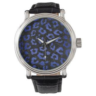 SKIN5 BLACK MARBLE & BLUE BRUSHED METAL (R) WATCH