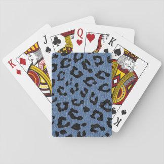 SKIN5 BLACK MARBLE & BLUE DENIM PLAYING CARDS