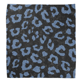 SKIN5 BLACK MARBLE & BLUE DENIM (R) BANDANA